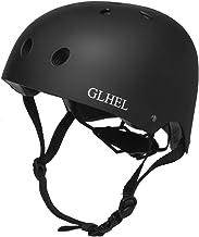 کلاه اسکیت GLHEL مقاومت در برابر ضربه ، ایمنی کلاه ایمنی چند کلاه ایمنی برای دوچرخه ، اسکیت ، اسکیت و اسکوتر مجوز CPSC بزرگسالان و کودکان کلاه شماره گیری قابل تنظیم با چند رنگ و اندازه خاص