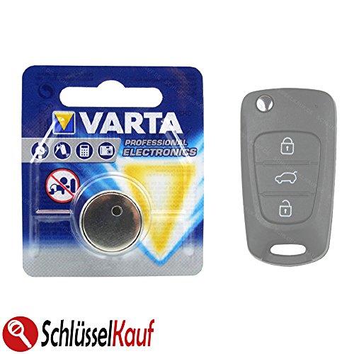 Schlüssel Autoschlüssel Batterie passend für Hyundai i30 ix35 Kia Ceed Picanto Rio