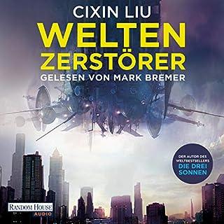 Weltenzerstörer audiobook cover art