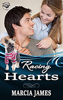 Racing Hearts: Klein's K-9s book 1 (Klein's K-9s service dogs) by [Marcia James]