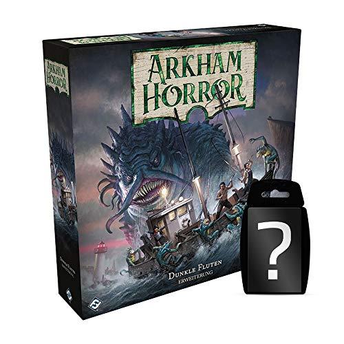 yvolve Arkham Horror - Dunkle Fluten | DEUTSCH | Set inkl. Kartenspiel