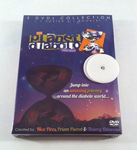 Planet DIABOLO DVD BOX + 2X schijf voor Henrys Circus/Vision/Beach/Jazz Diabolo