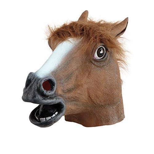 Bristol Novelty, BM160,maschera da cavallo (taglia unica)