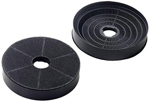 Amica Kohlefilter KF 17146 Filter, schwarz, 2 Stück