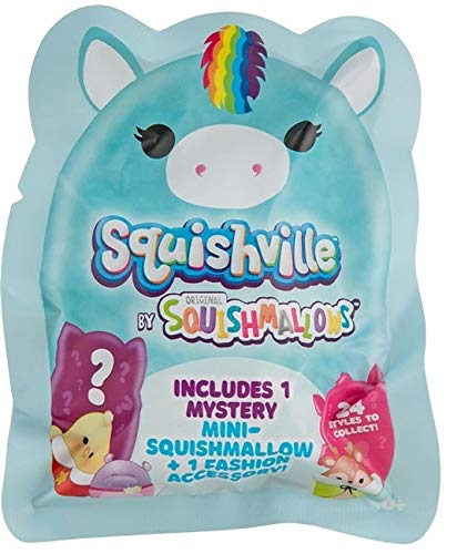 Squishmallow Squishville Mystery Mini Series 1 Plush Assortment Blind Package - 1 Blind Pack