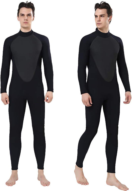 Realon Wetsuit Men Full 3mm Surfing Suit Shorty 3 4mm, 4 5mm Diving Snorkeling Swimming Jumpsuit