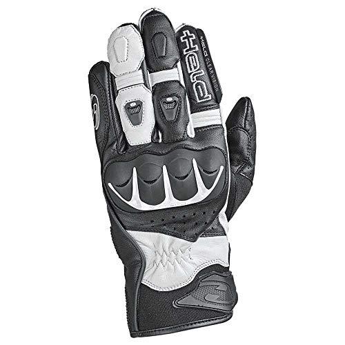 Held Dash Motorrad Leder Sporthandschuh, schwarz-weiß, 8