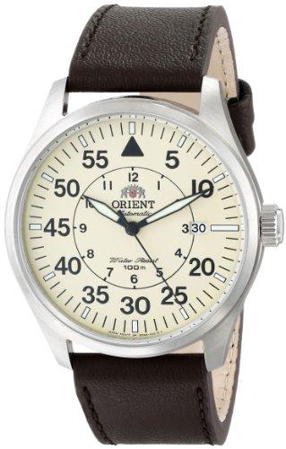 Orient ER2A005Y - Reloj para Hombres, Correa de Cuero Color marrón
