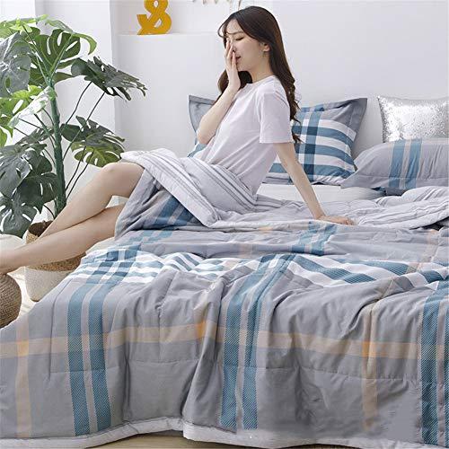 Legend Summer Cool Duvet, Soft Microfibre Quilt Touch, Hypoallergenic, Gift Cushion, Folding Air-conditioning Quilt(150×200cm,200×230cm? (B1,150 x 200 cm)