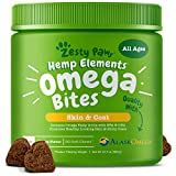 Zesty Paws Omega 3 Alaskan Fish Oil Chew Treats...