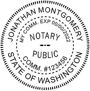 Washington Notary Stamp