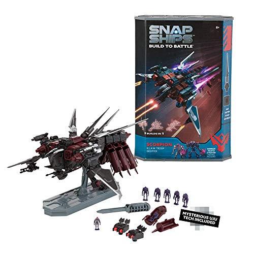 81-Piece Snap Ships Scorpion K.L.A.W. Troop Dropper - $5.69 @ Amazon + FS with Prime