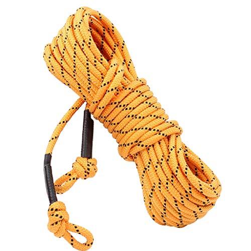 KLEDDP Corda d'arrampicata Corda ausiliaria Nucleo d'Acciaio Diametro 8mm Lunghezza Multi-Colore Multi-Size Opzionale Corde (Size : 10m)
