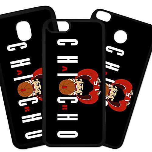 Elhuron beschermhoes voor mobiele telefoons, compatibel met Air Kauwgom, zwarte achtergrond, Samsung Galaxy S6
