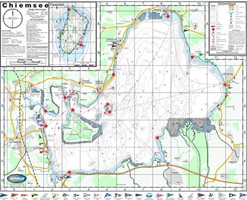 Seekarte Chiemsee 1: 40.000