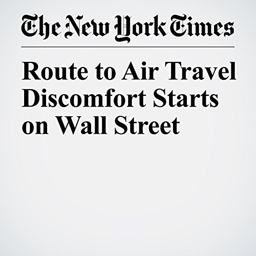 Route to Air Travel Discomfort Starts on Wall Street copertina