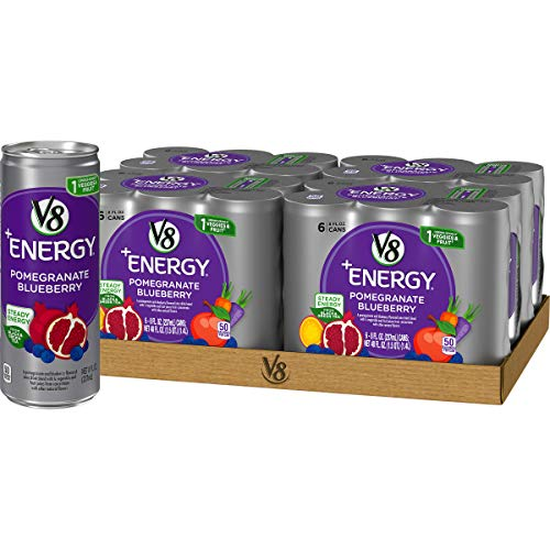 5. V8+Energy Natural Energy Health Drink