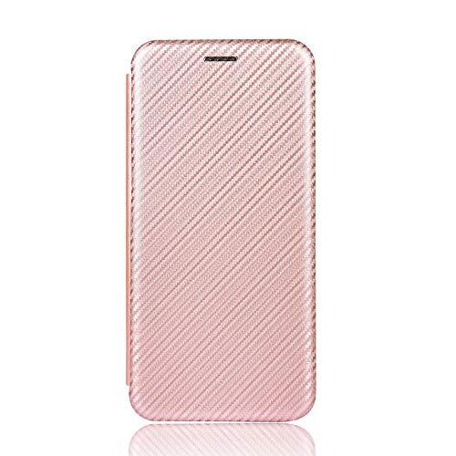 ケース 対応機種「 Redmi Note 10 Pro 」 [KAIDON] [モデル番号: C13-002#] 良質PUレザー マグネット開閉 カード収納 手帳型 ケース カバー (ピンク)