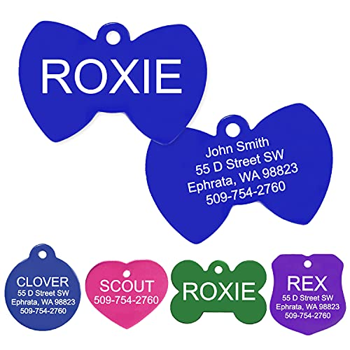 GoTags Pet ID Personalized Round Pet Tag