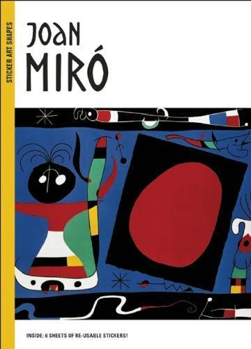 Joan Miro (Sticker Art Shapes
