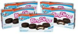 Drake's Cakes Ring Dings, 5 Boxes, 50 Individually Wrapped Ring-Shaped Devils Food Cakes...