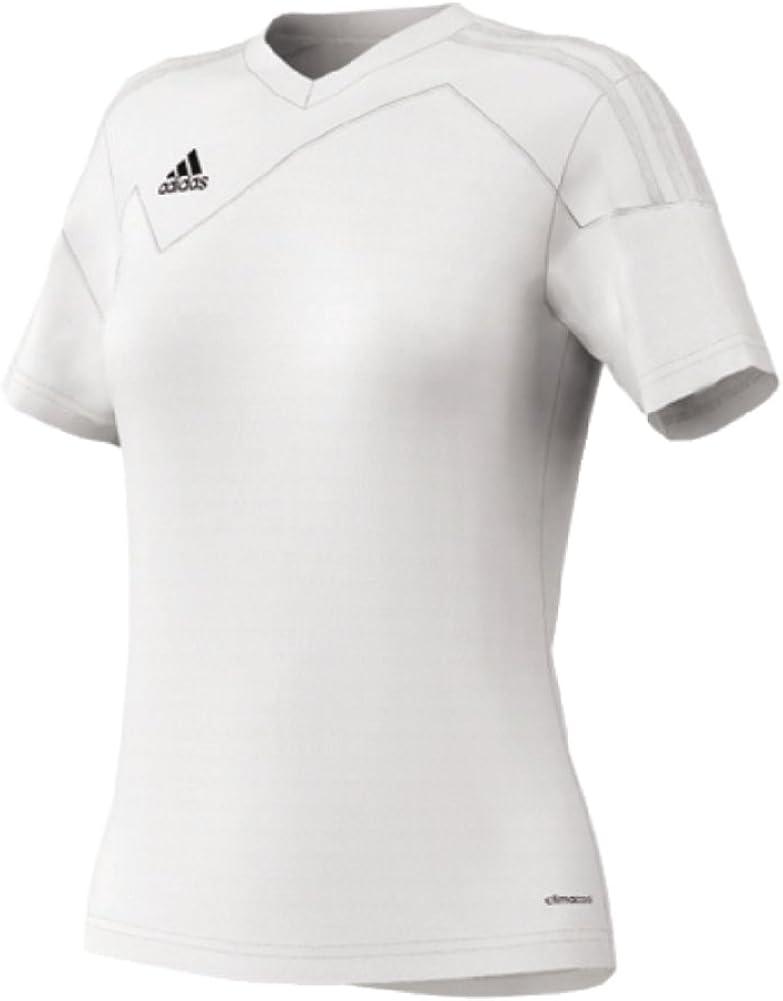 Amazon.com : Adidas Womens Toque 13 Jersey All White X-large ...