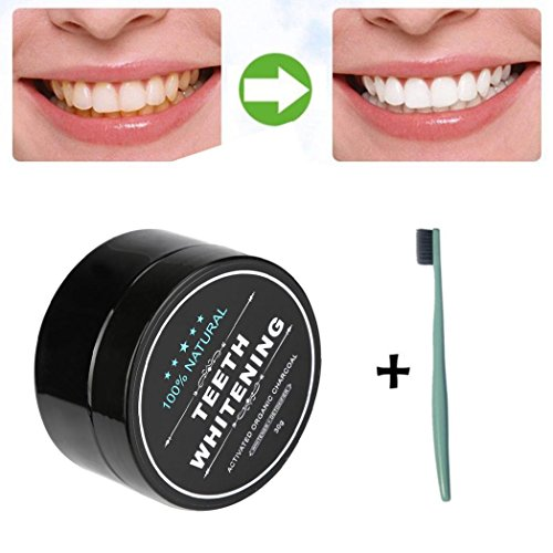 Fullfun Teeth Whitening Charcoal Powder