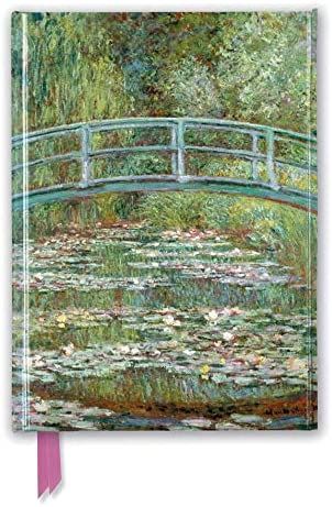 Claude Monet Bridge over a Pond of Water Lilies Foiled Journal Flame Tree Notebooks product image