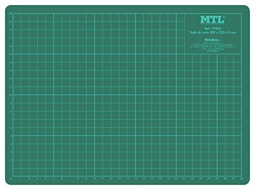 MTL 79284 - Vade de corte PVC, A4, 300 x 220 x 3 mm