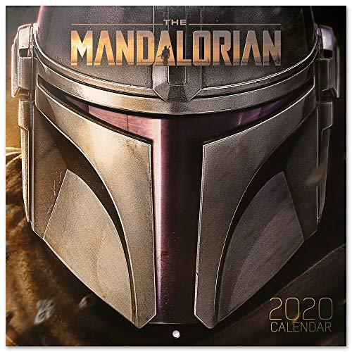 ERIK® Star Wars, The Mandalorian Wandkalender/Broschürenkalender 2020 30x30cm (aufgeklappt 30x60cm im Hochformat)