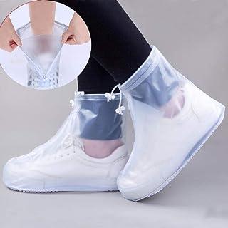 XMYNB Bottes de Pluie Couverture De Chaussure Imperméable Matériau De Silicone Matériel Unisexe Protecteurs Bottes De Plui...