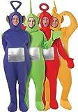 4 Déguisements Teletubbies pour adulte - Multicolore -Taille unique