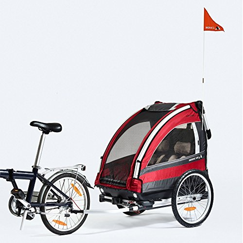 Kinderanhänger NORDIC CAB EXPLORER RennMaxe Set inkl. Walking Set
