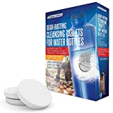 Tumbler Water Bottle Cleaning Tablets - (30 Tablets) All Natural Ingredient, Great for All Stainless, Plastics, Ceramic and Glass Drinking Containers, Individually Packed (1)