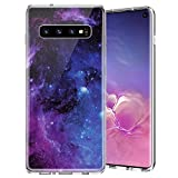 Caka Case for Galaxy S10 Marble Case Slim Anti Scratch Shockproof Luxury Fashion Silicone Soft Rubber TPU Protective Case for Samsung Galaxy S10 (Starry)