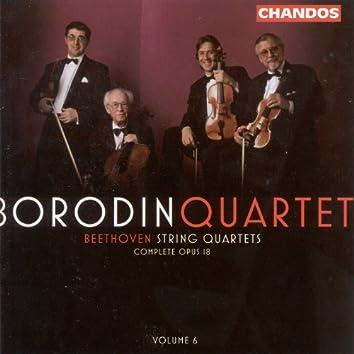 Beethoven: String Quartets, Vol. 6