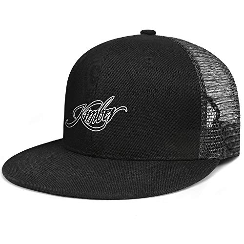 Unisex Fashion Hip-hop Cap Kimber-Sniper-Rifle-Firearms-Gun- Vintage Trucker Hats Blank Best Snapback Caps