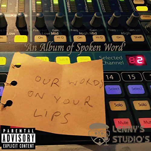 Our Words on Your Lips audiobook cover art