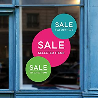 Best promotional window decals Reviews
