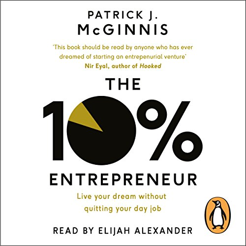 The 10% Entrepreneur audiobook cover art
