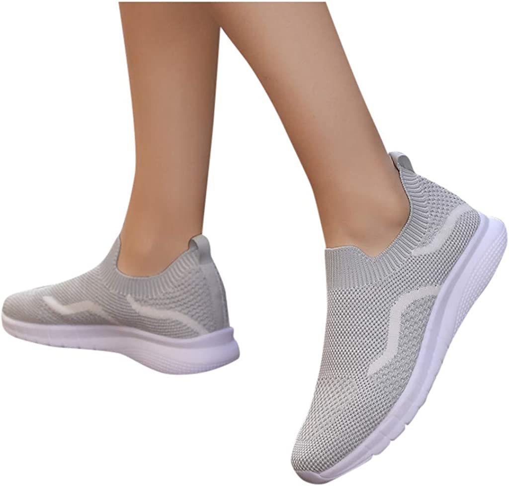 AODONG Walking Shoes for Women,Running Shoes Cushion Shoes Mesh Air Breathable Lightweight Athletic Sneakers Gym Walking