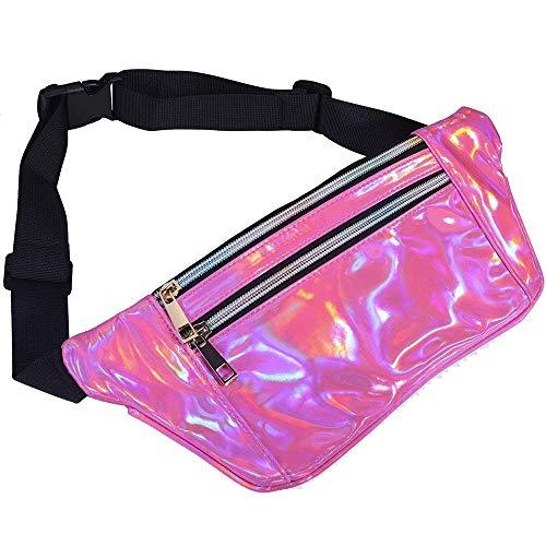Bolso de la correa ajustable con cinturón elástico Pretina de la corriente de la bolsa de la cinta andadora paquetes de Fanny for Mujeres paquete de la cintura de la correa for ejecutar yendo de excur