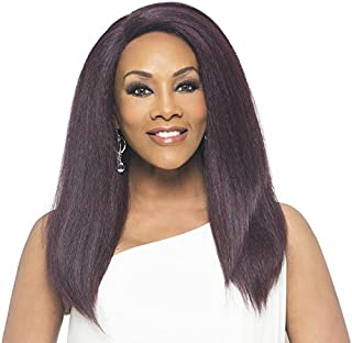 Vivica A. Fox LYNN Deep Swiss Lace Front Wig, New Futura Synthetic Fiber in Color 4
