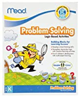 Mead Kindergarten Problem Solving Workbook, 10 x 8-Inches, 96 Pages (48026) by Mead