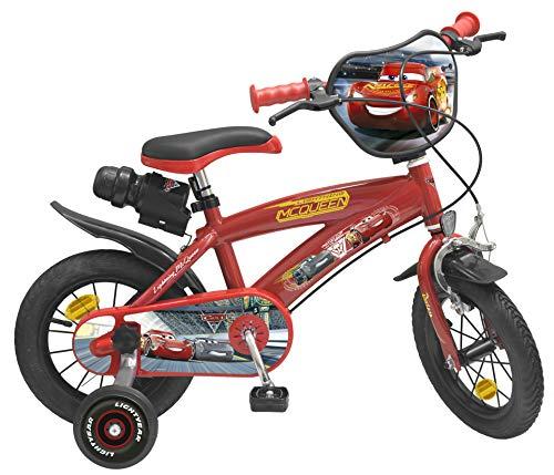 Toimsa Vélo pour Enfant sous Licence Cars 3 12 Pouce de 3 à 5 Ans, 742U