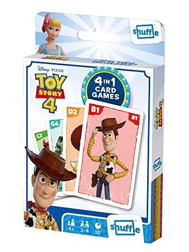 Shuffle Card Game Fun 4 in 1 Toy Story 4
