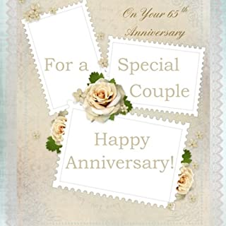 For A Special Couple, On Your 65th Anniversary: Anniversary Gift Book; 65th Wedding Anniversary Gifts in Al; 65th Wedding Anniversary in al; 65th ... Card in al; 65th Anniversary Card in Of
