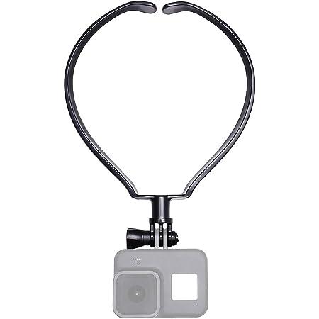 【ActyGo】 GoPro ゴープロ 用 アクセサリー ネックレス式マウント hero9 hero8 MAX スマホ その他アクションカメラ対応