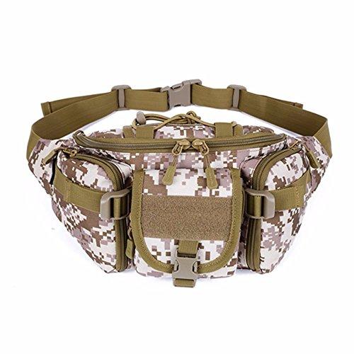 YFNT Táctica Cintura Pack portátil riñonera al Aire Libre Ejército Bolsa de Militar