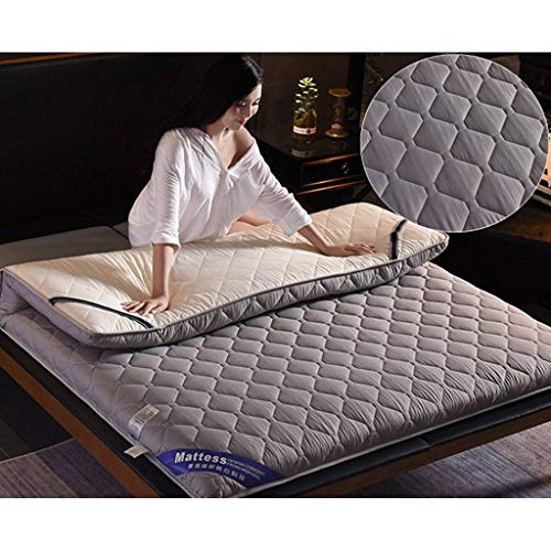 SINKITA Japanese Floor Mattress,Thicken Futon Mattress Floor Mat Tatami Mat Cotton Top Cool Top A Super Soft Guest Bed Collapsible Portable Roll Up-D-120x200cm(47x79inch)